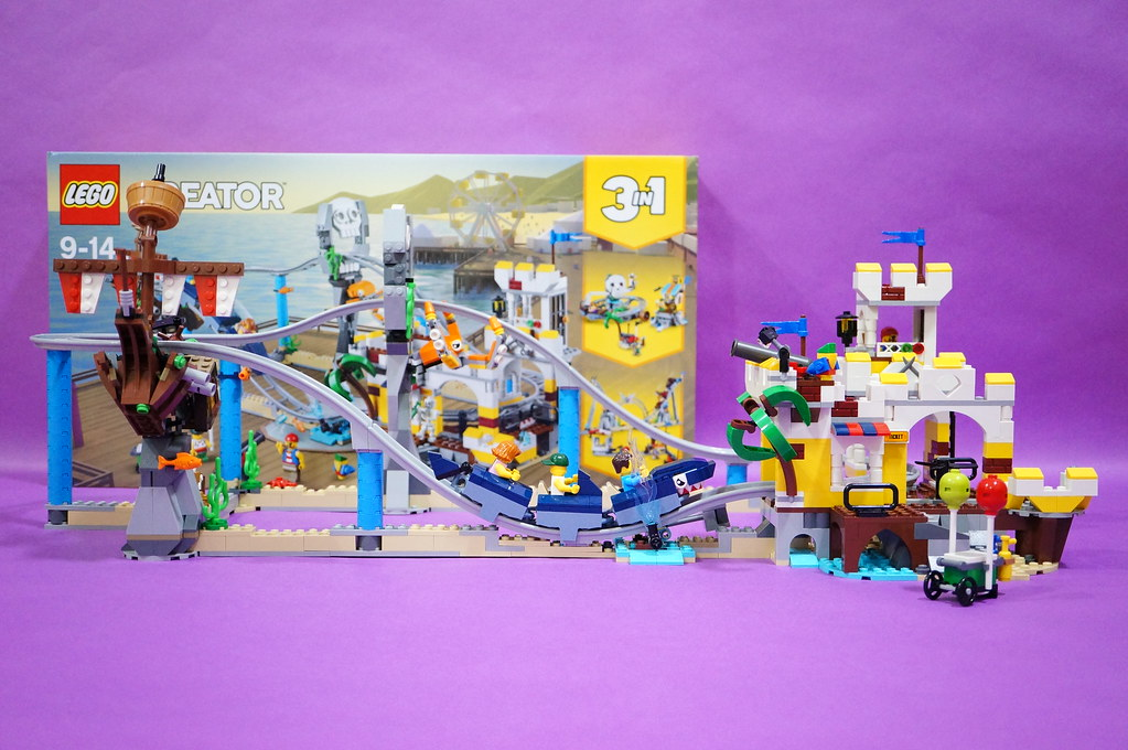 31084 - Pirates Roller Coaster set