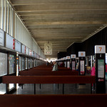 Renewal of Preston Bus Station - the sleek lines inside