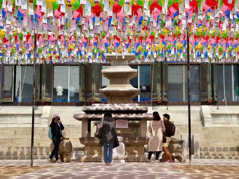 Bongeunsa Temple, Gangnam, Seoul
