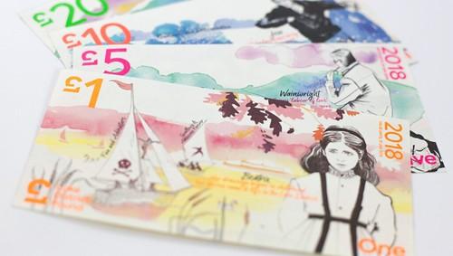 Lake district Pound notes
