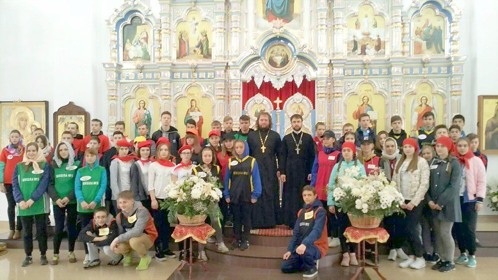 «Марафон — 2018» в соборе в честь святого Великомученика и Победоносца Георгия