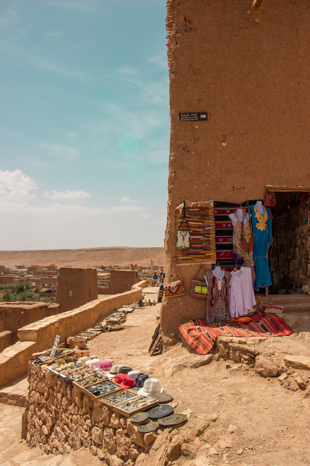 A tourist shop in Ait Ben Haddou