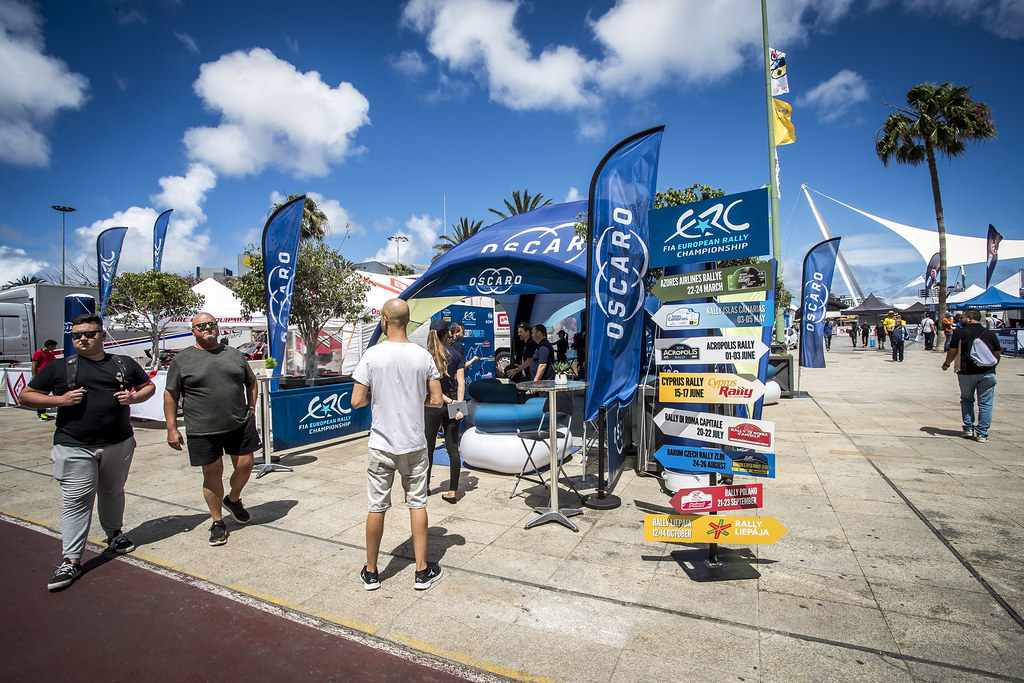 ERC OSCARO, during the 2018 European Rally Championship ERC Rally Islas Canarias, El Corte Inglés,  from May 3 to 5, at Las Palmas, Spain - Photo Gregory Lenormand / DPPI