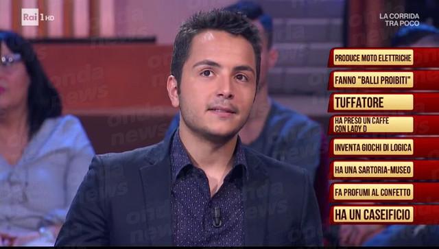 Cristian Robilotta a rai 1