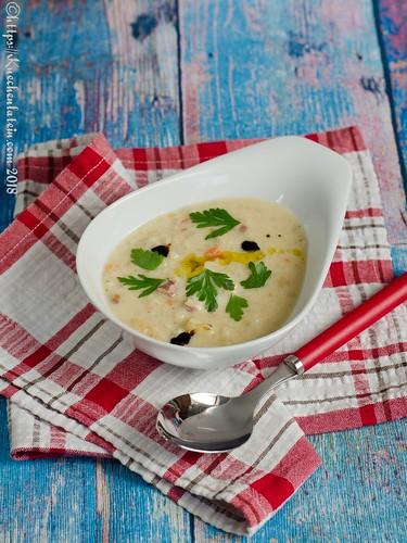 Kroatische Graupen-Bohnensuppe