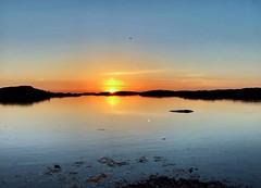 Sunset at Skagerack