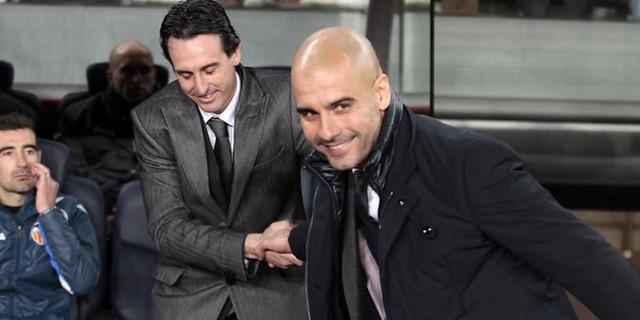 Pep Guardiola Selamat Datang Di Premier League, Unai Emery!