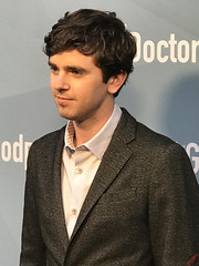 Freddie Highmore at The Good Doctor Season One For Your Consideration Screening Red Carpet Arrivals - IMG_6838