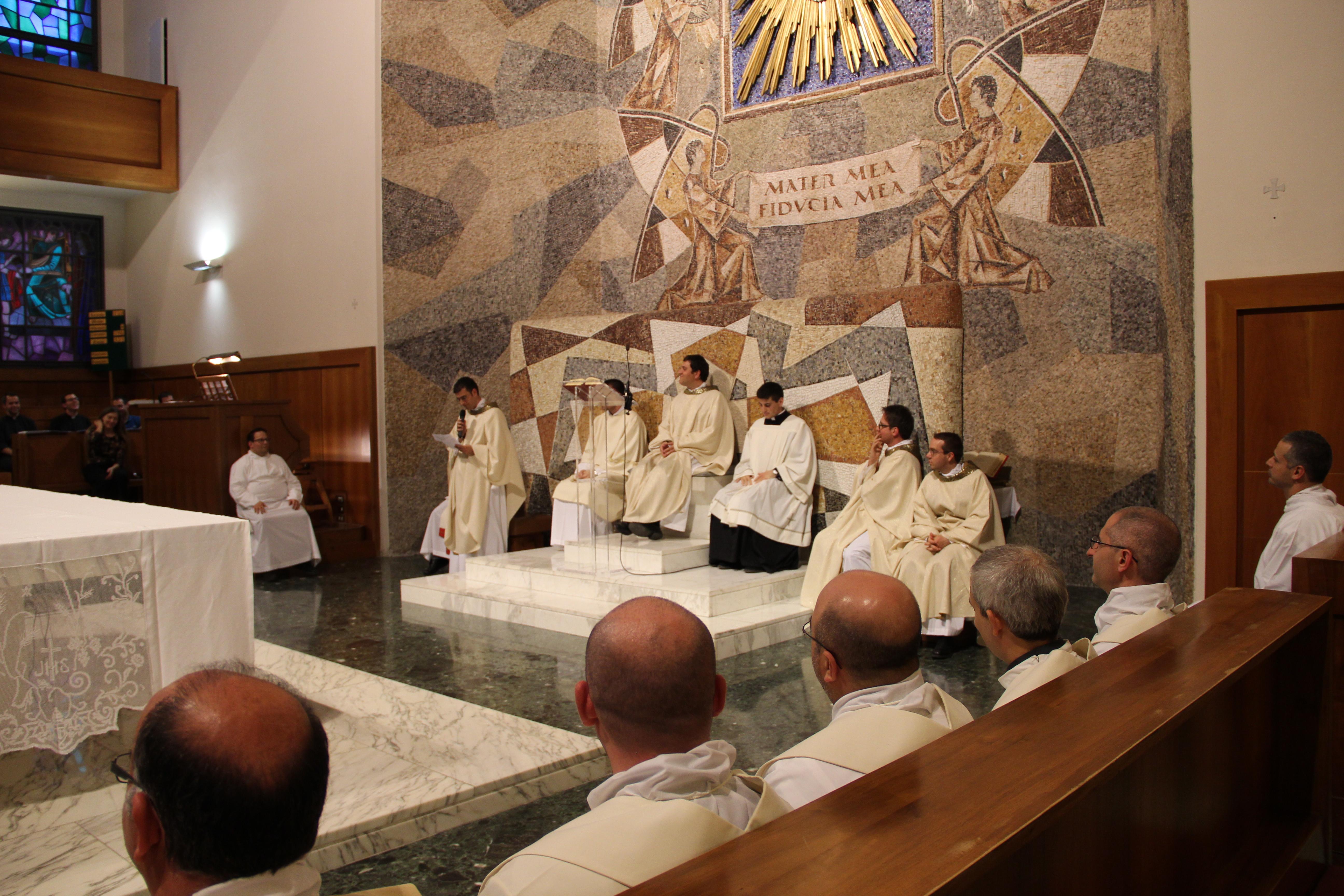 Prima Messa In Seminario Sacerdoti Romani 2018
