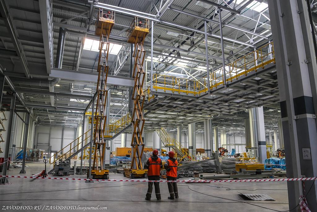 Завод каркасов кабин SFTP на КАМАЗе