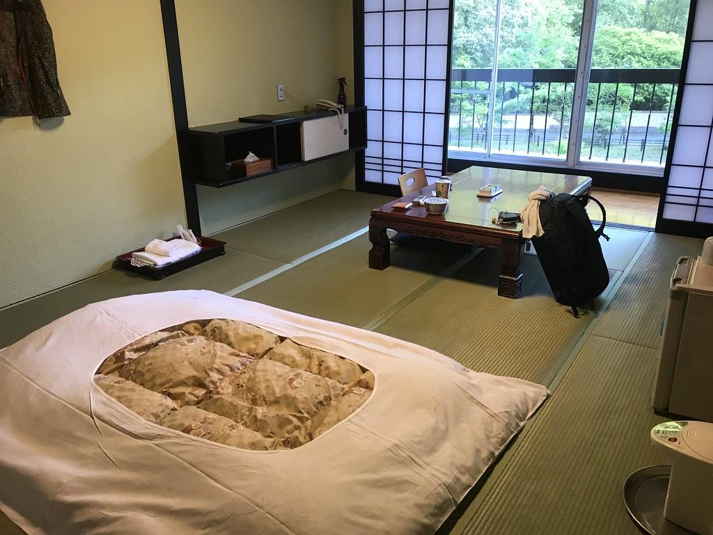 妙見温泉田中会館の一室
