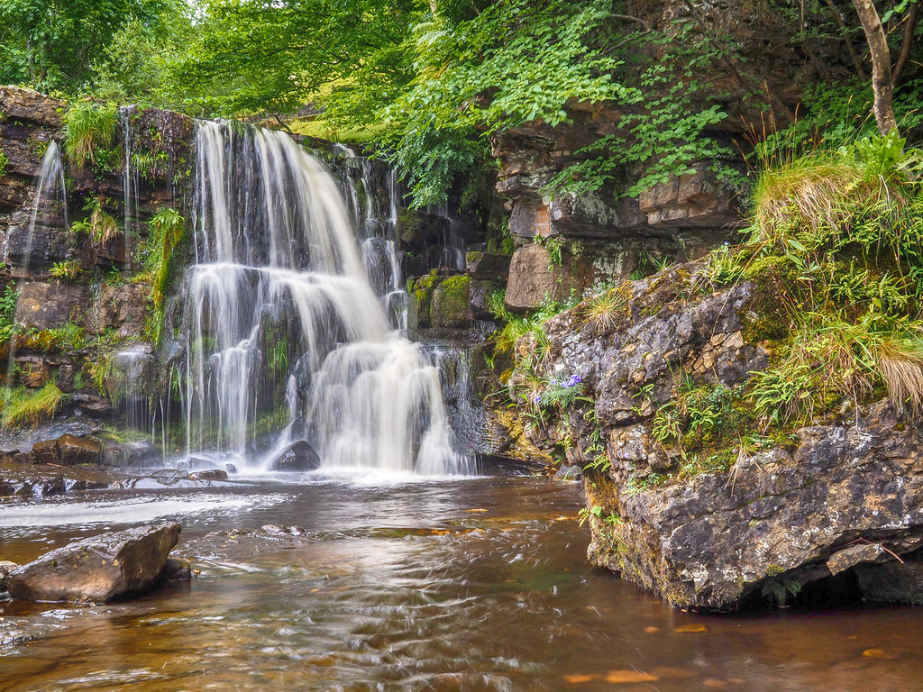 Catrake Force waterfall at Keld in the Yorkshire Dales. Credit Bob Radlinski, flickr