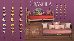 Granola. Celeste Daybeds and Moon Phases.