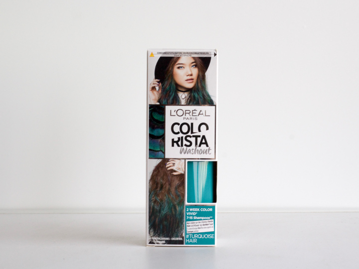L'Oréal Colorista Washout in Turquoise