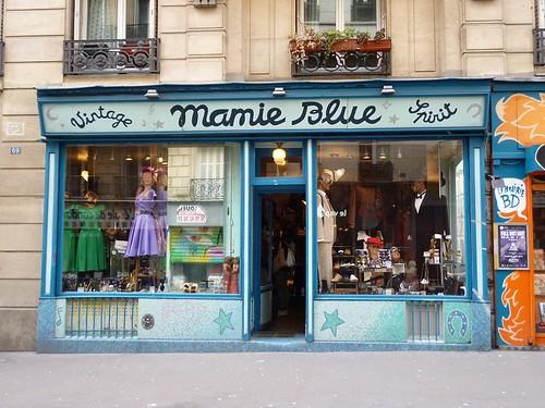 1 Mamie Blue shop front