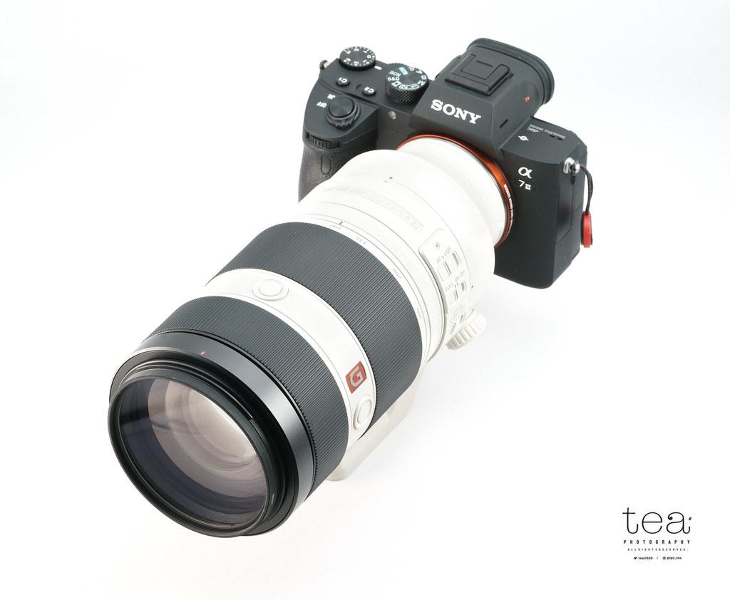 Sony α7IIIとFE100-400mmF4.5-5.6 GMの装着例