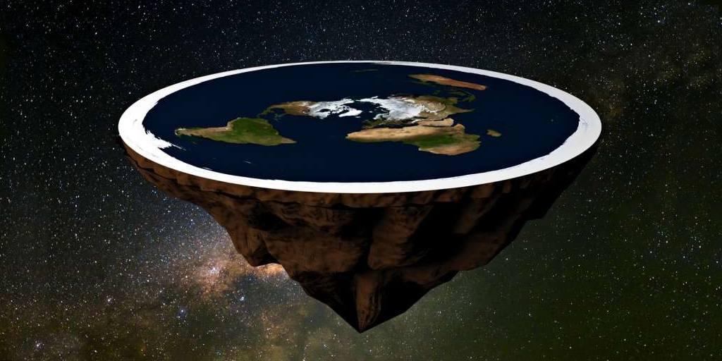 Seulement les deux tiers des Américains croient que la terre est ronde