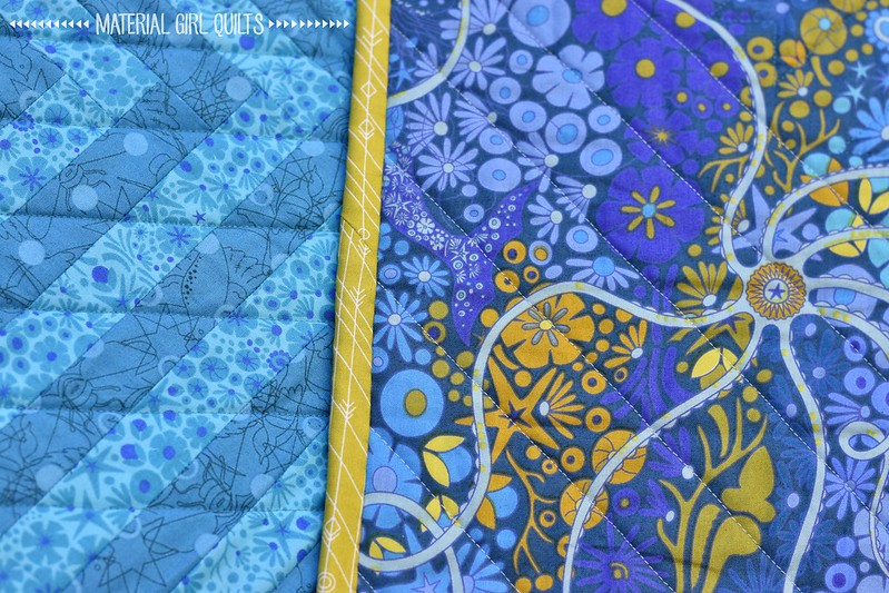 Linked Logs quilt by Amanda Castor of Material Girl Quilts {2018 Summer Issue of Quilt & More}