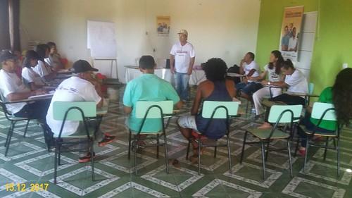 Programa Qualifica Bahia - Curso de Apicultura em Nordestina/BA.