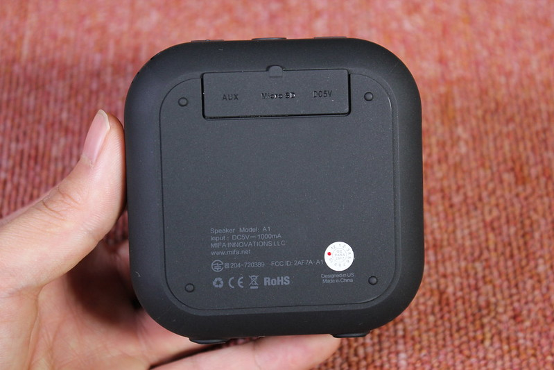 MIFA A1 Bluetooth スピーカー 開封レビュー (23)