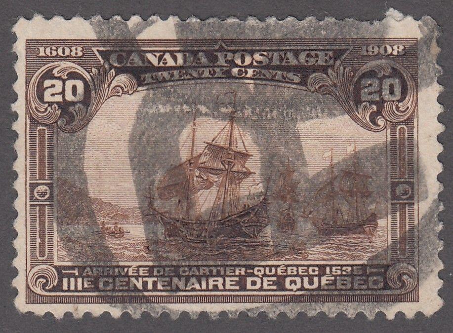 Canada - Scott #103 (1908) used