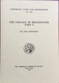 Coinage of Metapontum book cover