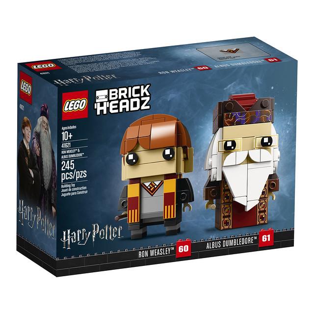 41621 - Ron Weasley & Albus Dumbledore - Box Front