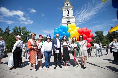 """17.05.2018 Vladimir Vitiuc la evenimentul """"Ziua internațională a cămășii tradiționale ucrainene (vâșivanka)"""""""