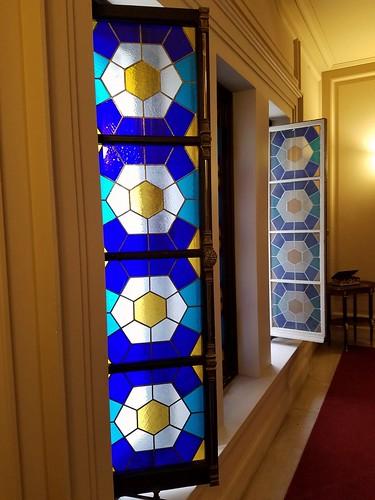 Uzbek Embassy Stained Glass