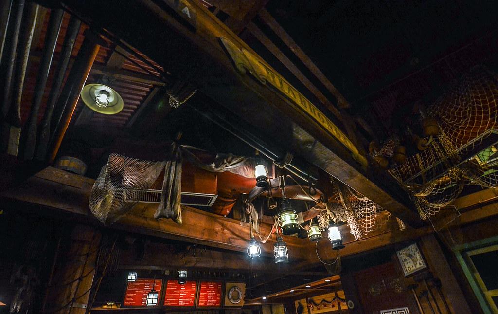 China Voyager inside TDL