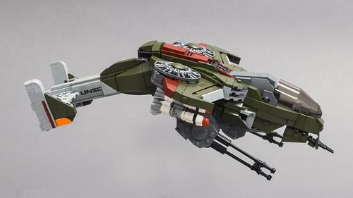 """AV-22 Sparrowhawk (from """"Halo Wars"""")"""