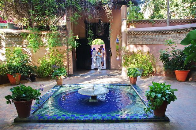 Maroc - Marrakech - Jardin Majorelle - IMGP0010