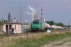 BB 75027 s'engageant sur la ligne 4 - Photo of Quiers