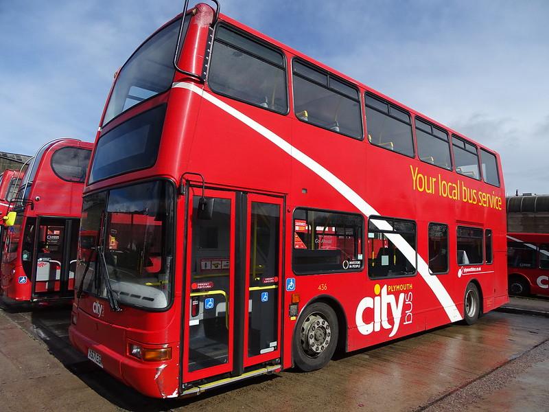 Plymouth Citybus X571EGK