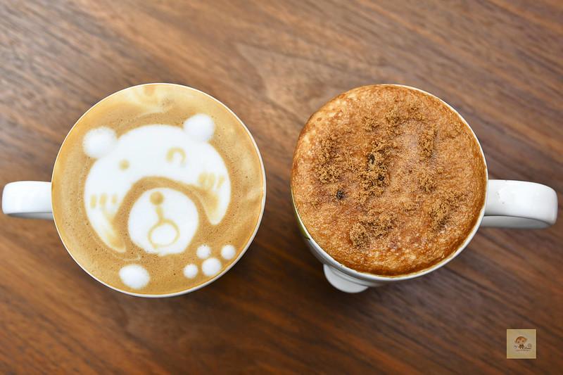 尼巴熊咖啡輕食, 嘉義美食推薦, 嘉義咖啡館推薦, 嘉義下午茶推薦, 五行鬆餅