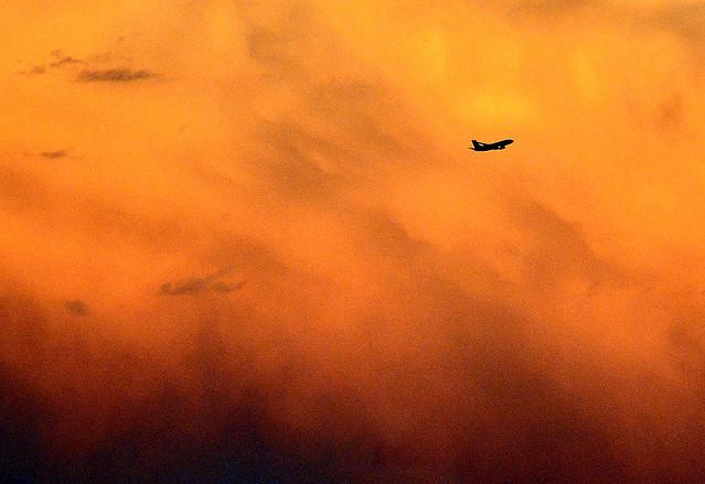 1-Sunset Flight