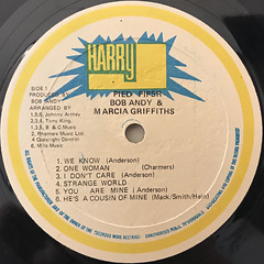 BOB & MARCIA:PIED PIPER(LABEL SIDE-A)