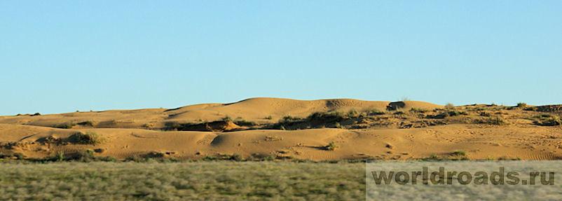 Пустыня в Калмыкии