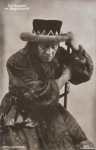 Paul Wegener as König Richard III
