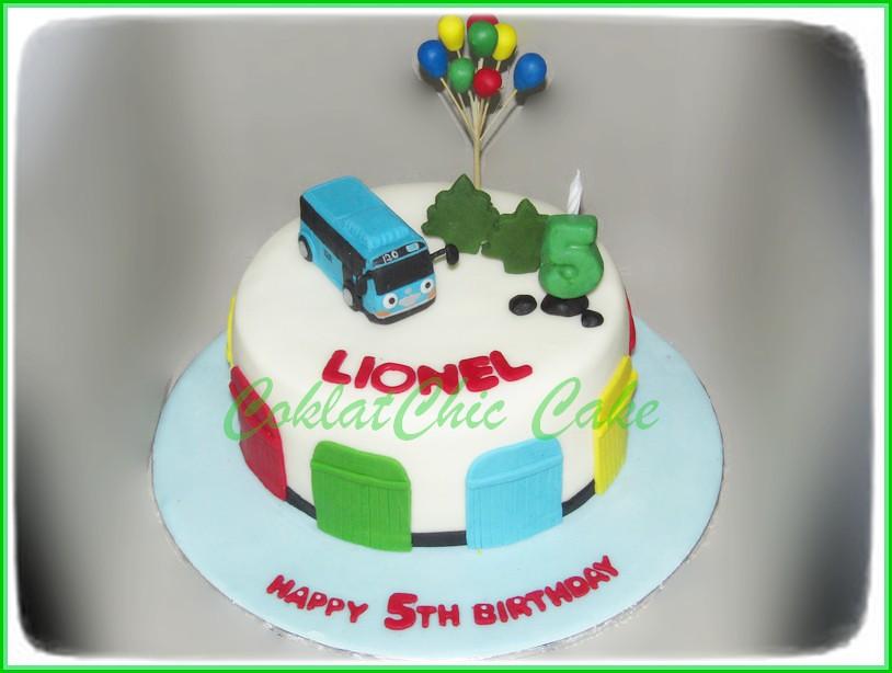 Cake Tayo LIONEL 15 cm