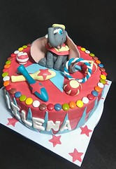 Tarta Circo Dumbo