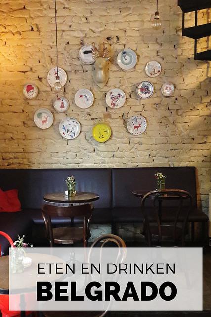 Smullen in Belgrado: de leukste cafés en restaurants. Café: Amélie | Mooistestedentrips.nl