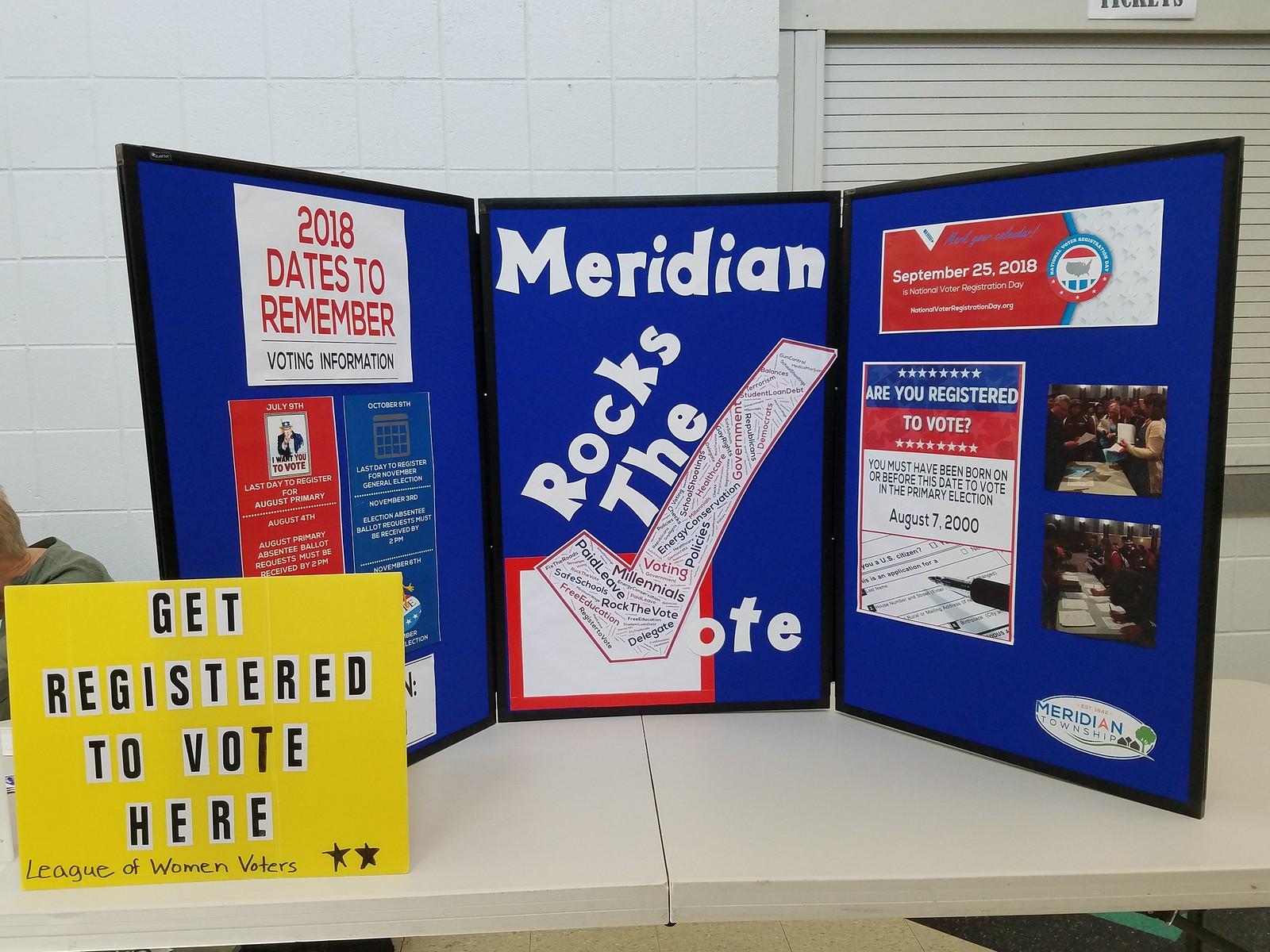 Haslett High School Hosts Voter Registration Drive