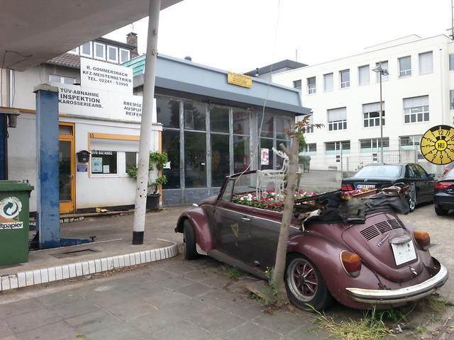 Flowerpot Car