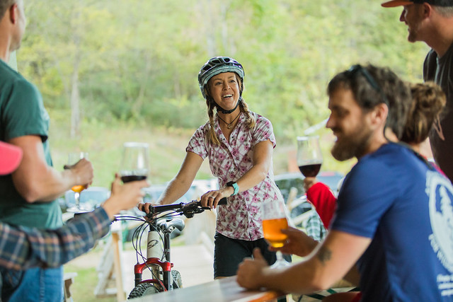 Mountain Biker - Parkway Brewing Company