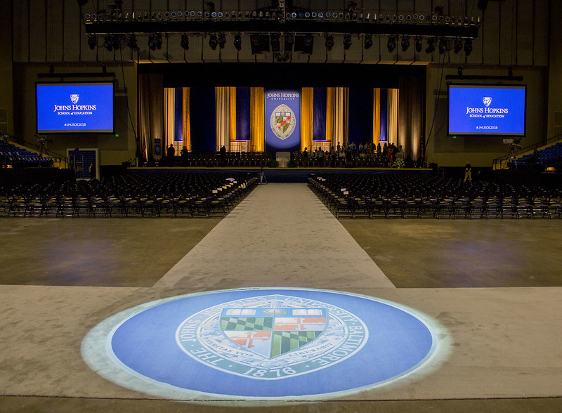 Johns Hopkins School of Education Graduation and Reception 2018