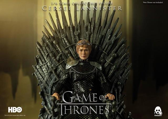 讓人恨得牙癢癢的女魔頭!! threezero《冰與火之歌:權力遊戲》瑟曦·蘭尼斯特 Cersei Lannister 1/6 比例可動人偶作品