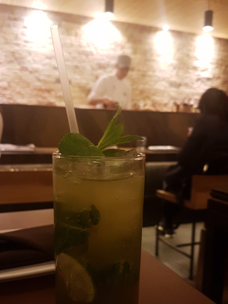 JaBistro matcha cocktail
