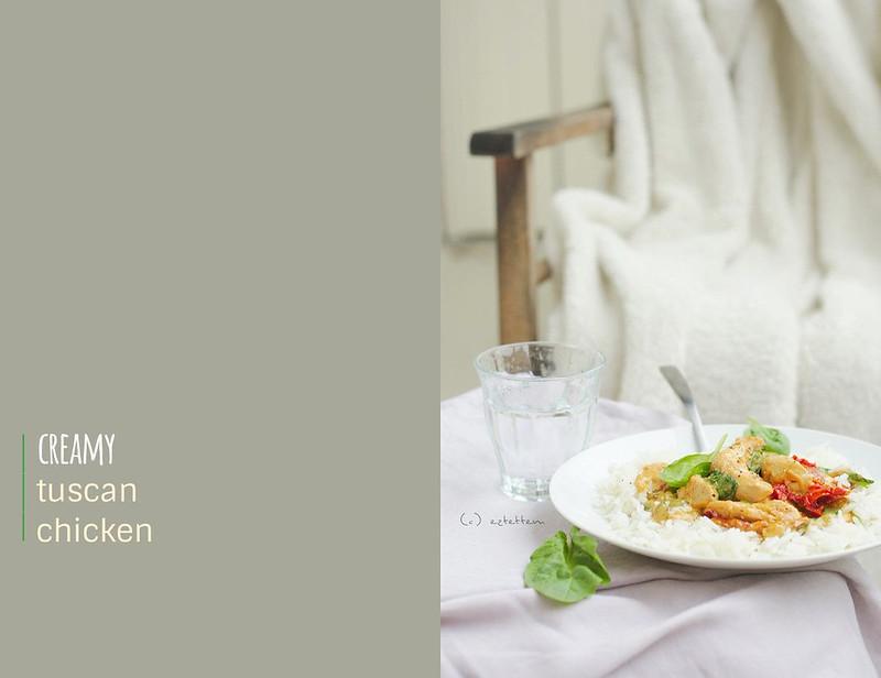 creamy tuscan chicken