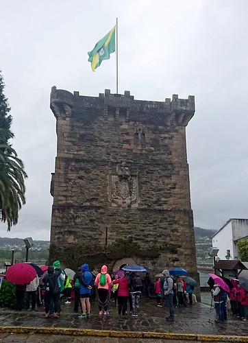 Torreón dos Andrade - Saída da Andaina histórico-cultural de Pontedeume
